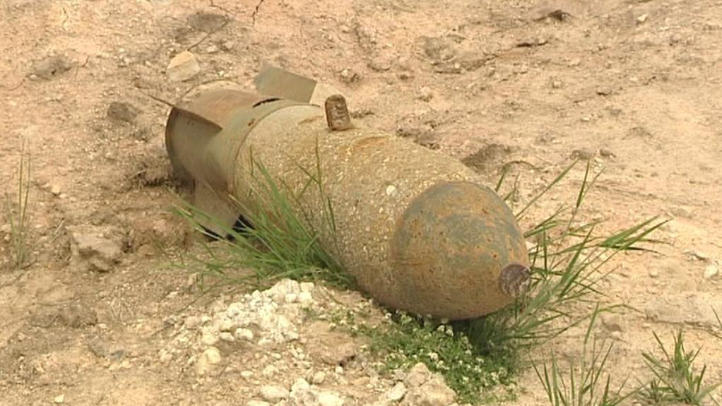 Nevybuchlá munice