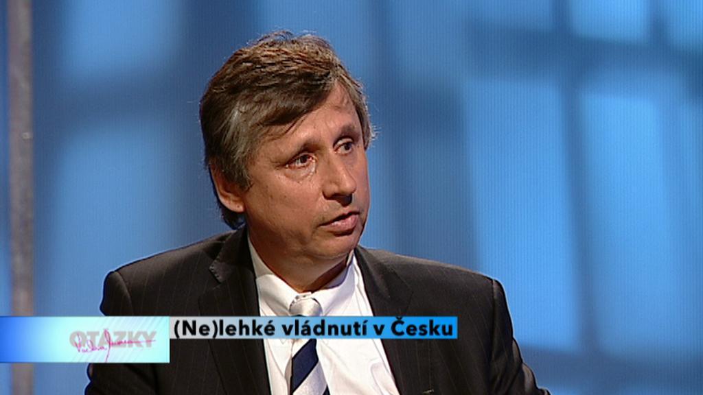Expremiér Jan Fischer