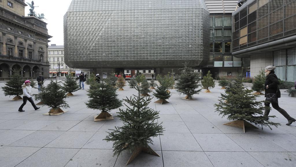 Stromky u Národního divadla