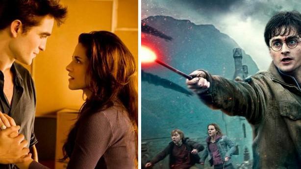 Twilight sága / Harry Potter
