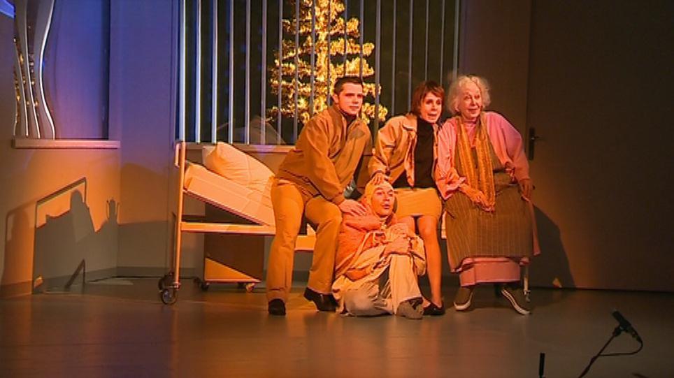 Nová inscenace Slováckého divadla Oskar a růžová paní