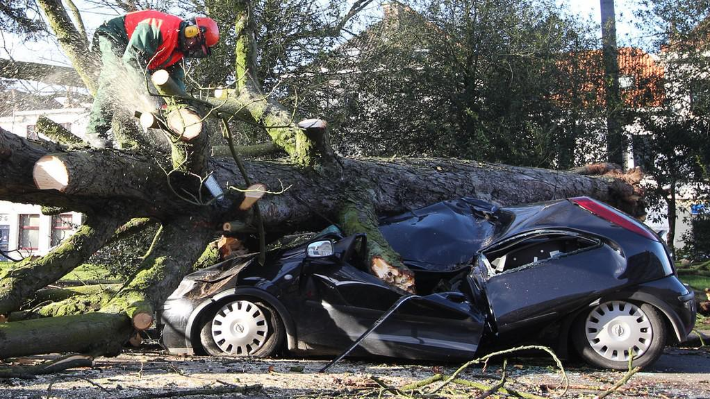 Bouře v Belgii