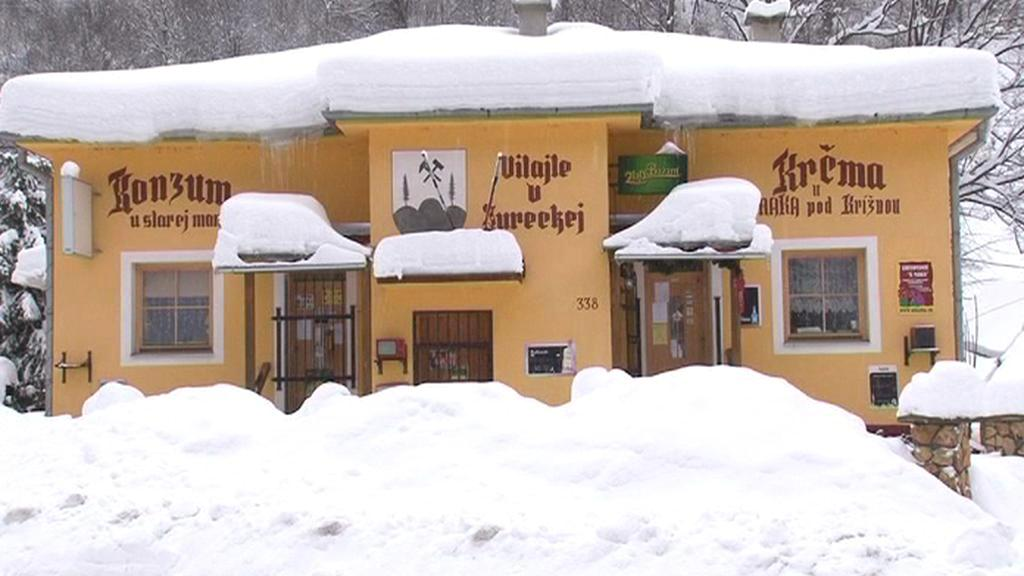 Slovensko zasypal sníh
