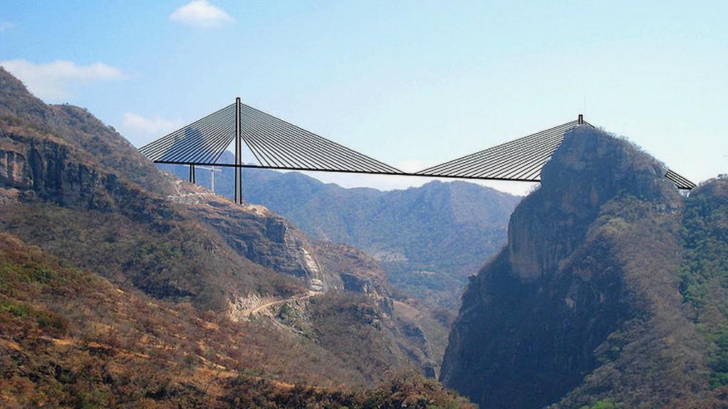 Most v Mexiku