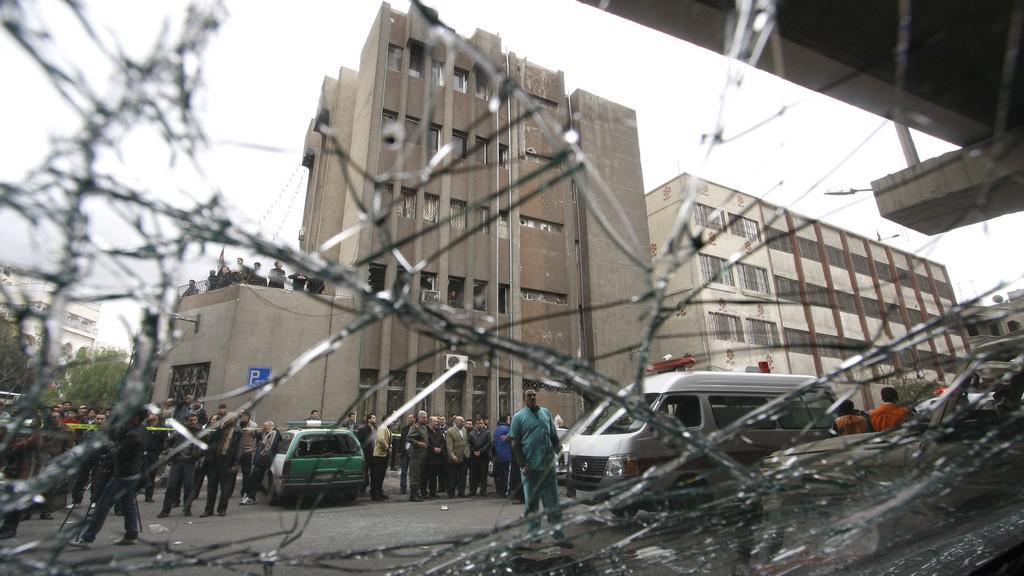 Sebevraždený útok v Sýrii