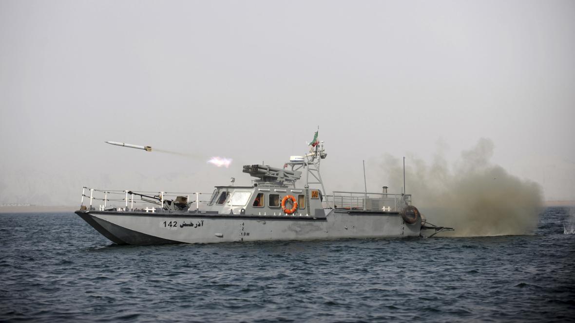 Íránská vojenská loď