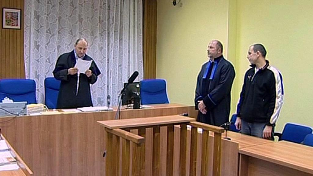 František Brávek před soudem