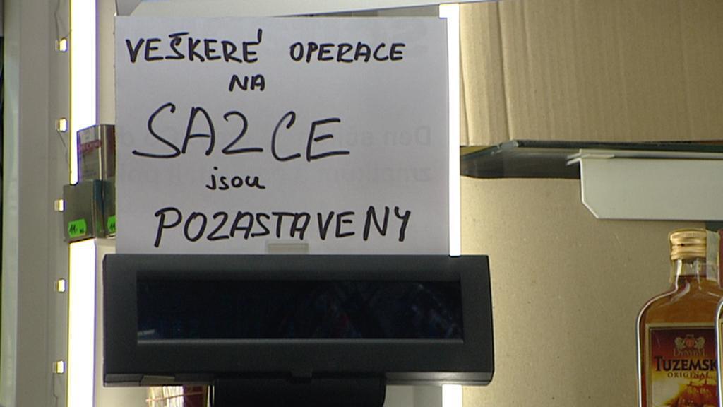 Osiřelý terminál Sazky