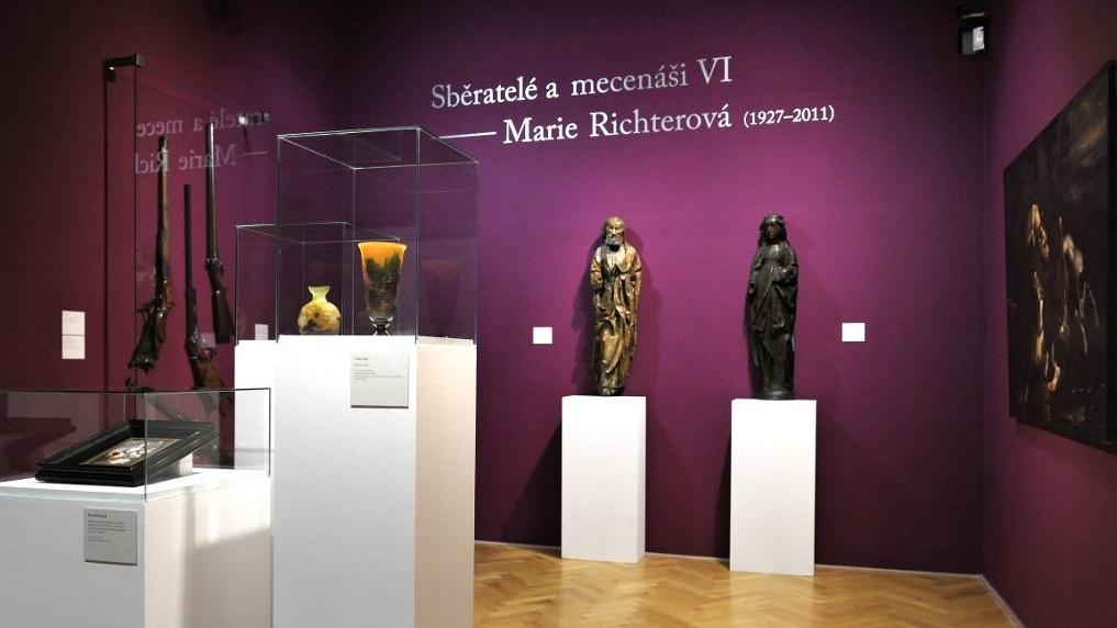 Sběratelé a mecenáši - Marie Richterová