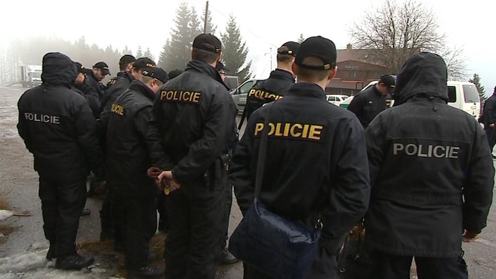 Policisté při pátrání po pohřešovaném muži z Lopeníku