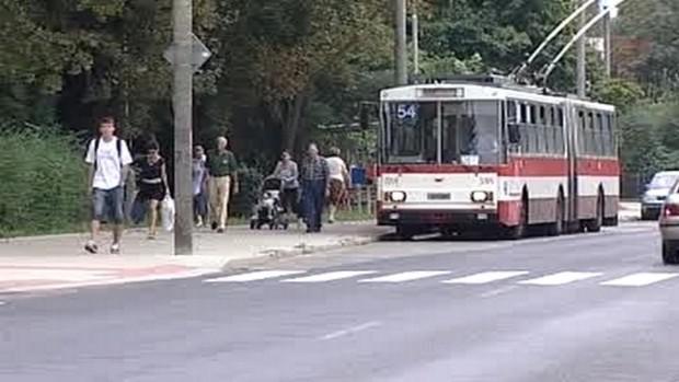 Trolejbusová doprava v Ústí n. Lab.
