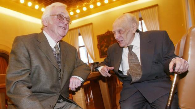Josef Škvorecký a Viktor Fischl