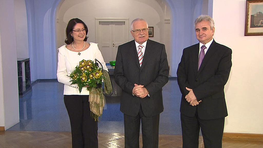 Novoroční setkání na Pražském hradě