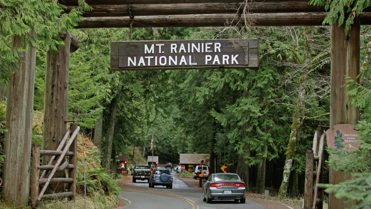 Park Mount Rainier