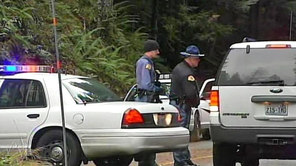 Hlídky v parku Mount Rainier