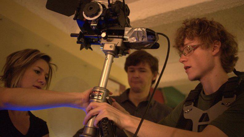 Film Do Dna natočil režisér Filip Laureys (vpravo)