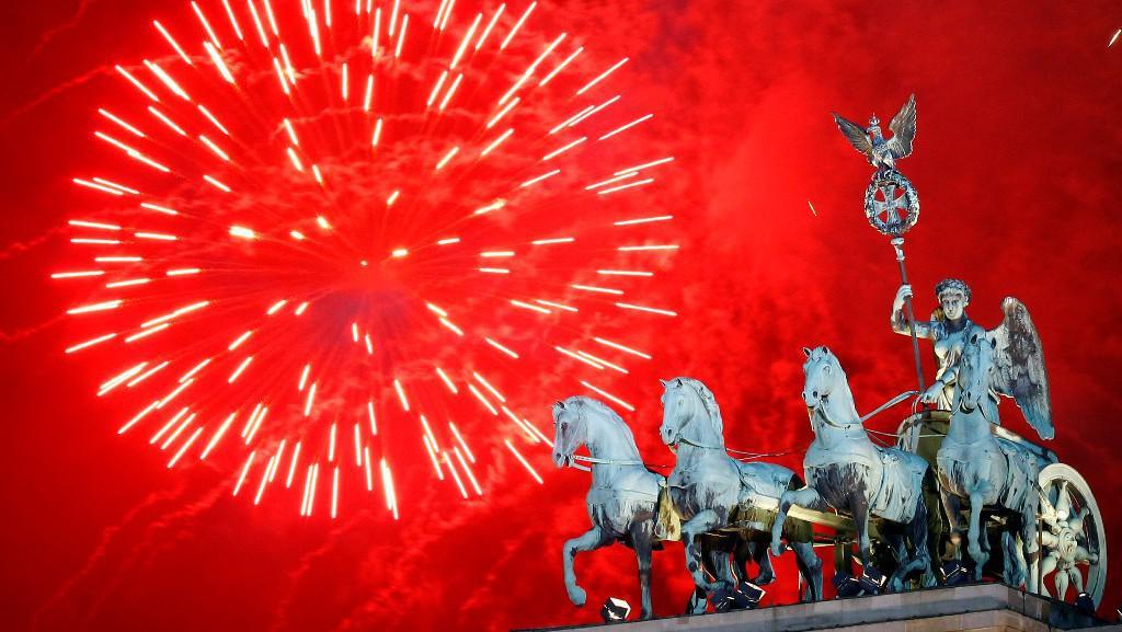 Sïlvestrovské oslavy v Berlíně