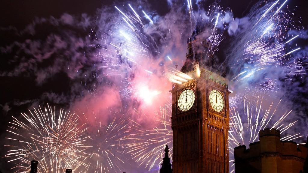 Sïlvestrovské oslavy v Londýně