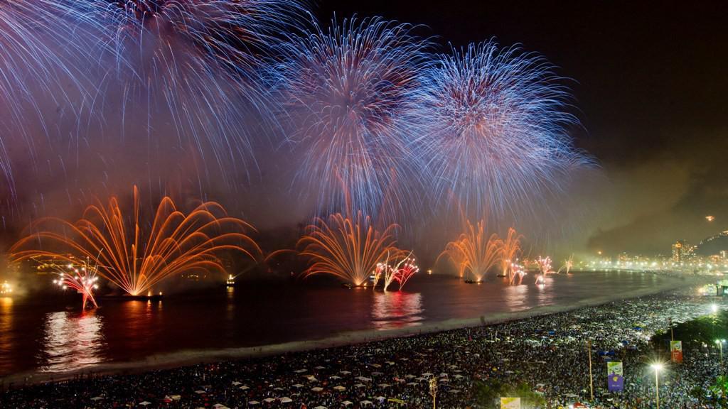Sïlvestrovské oslavy v Rio de Janeiru