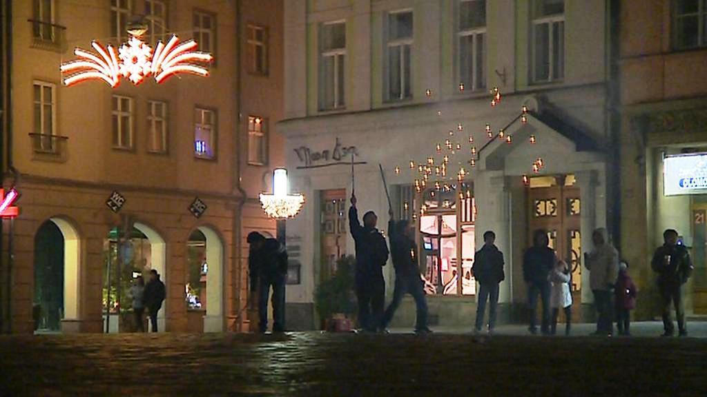Sïlvestrovské oslavy v Olomouci