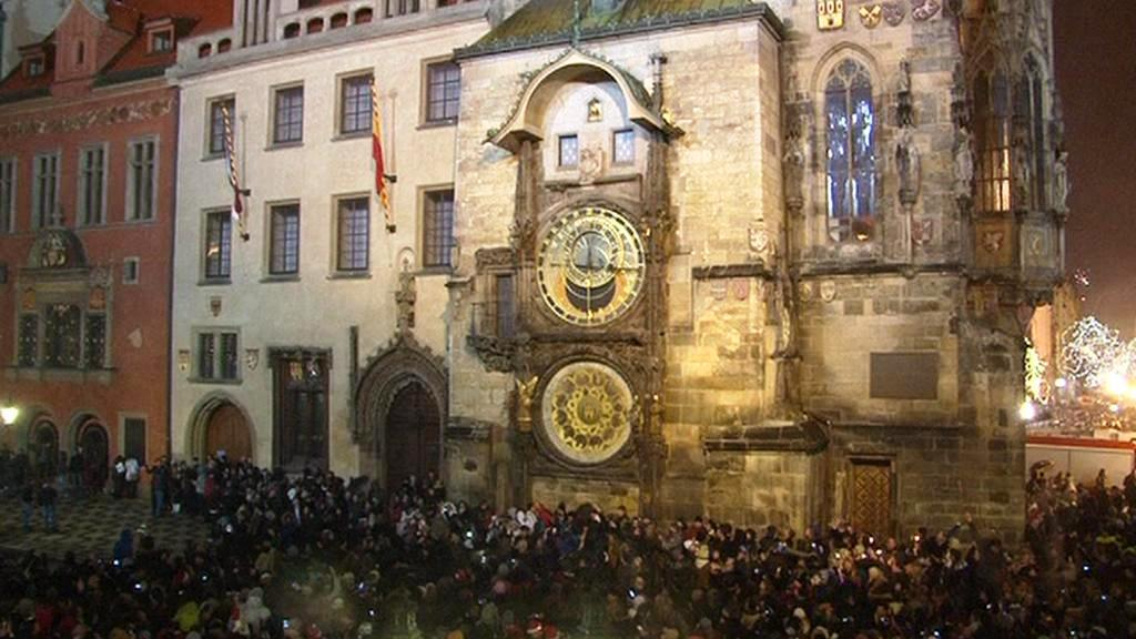 Sïlvestrovské oslavy v Praze