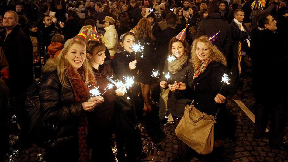 Sïlvestrovské oslavy v Paříži