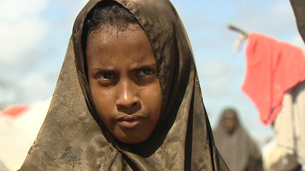 Obyvatelka Mogadiša