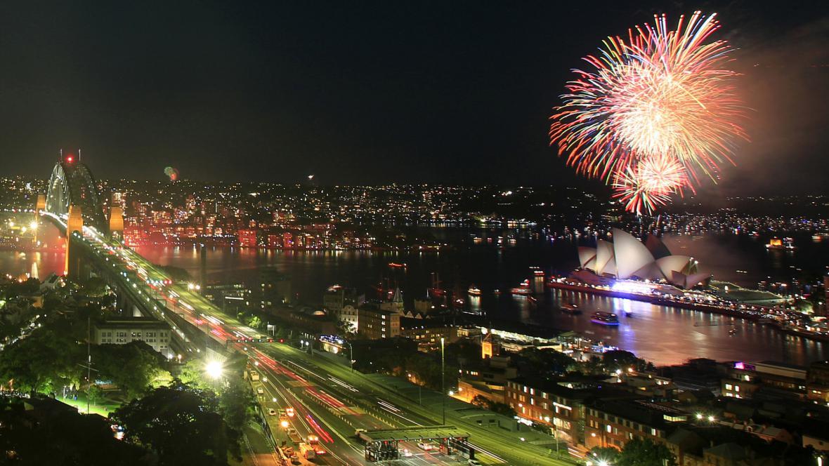 Oslavy nového roku v Sydney