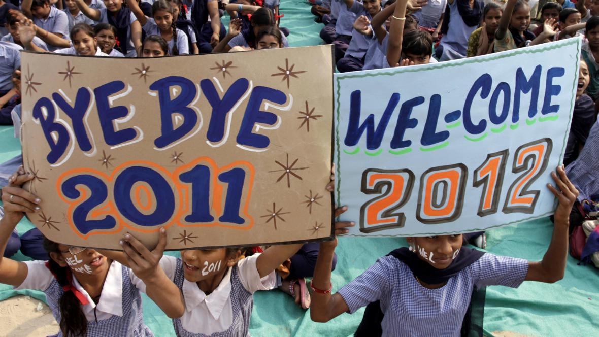 Vítání nového roku v Indii