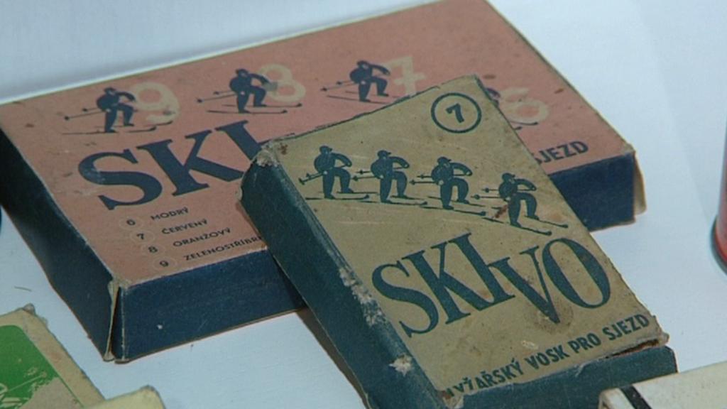 Staré lyžařské vosky