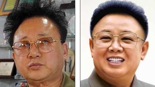 Který je Kim Čong-il a který jeho dvojník?