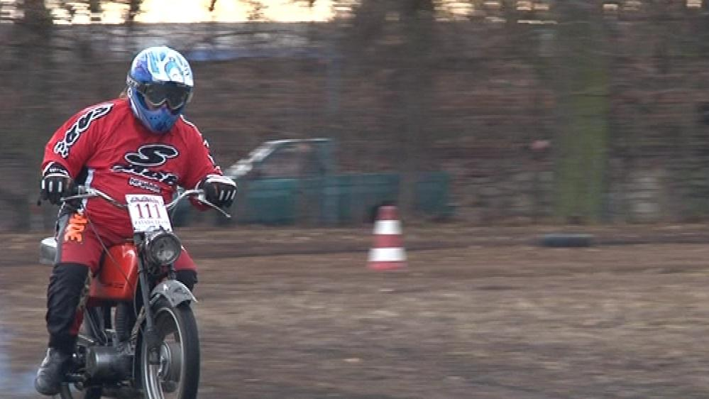 Motocykl JAWA 50
