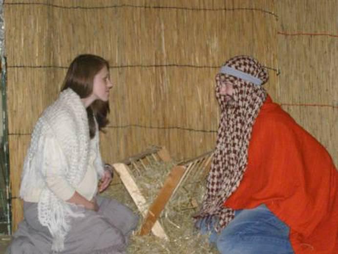 Betlém v zahradnické škole Kopidlno