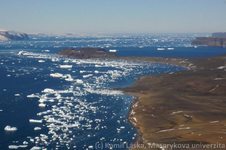 Antarktické léto na ostrově Jamese Rosse