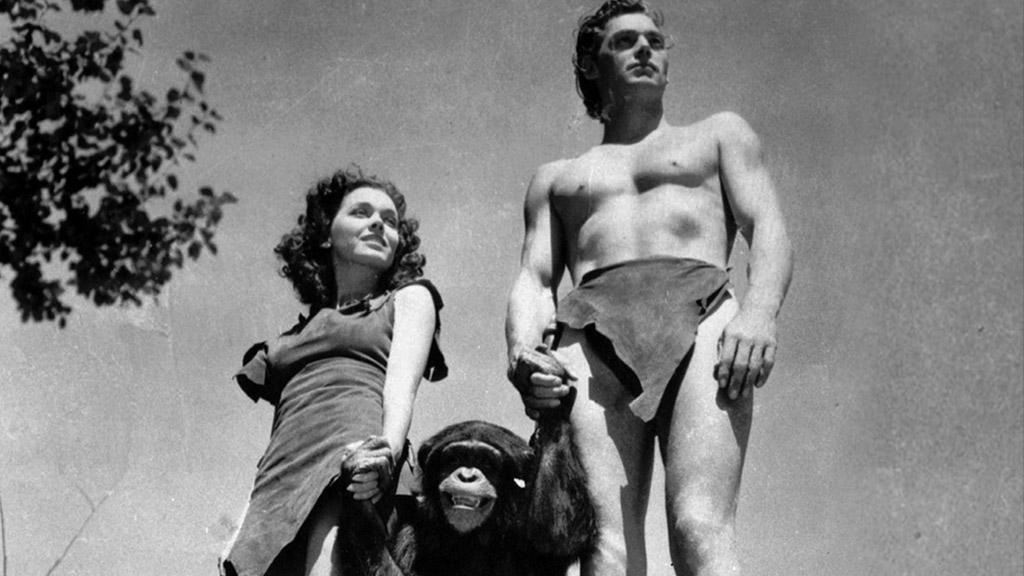 Johnny Weissmuller, Maureen O'Sullivanová a Cheetah