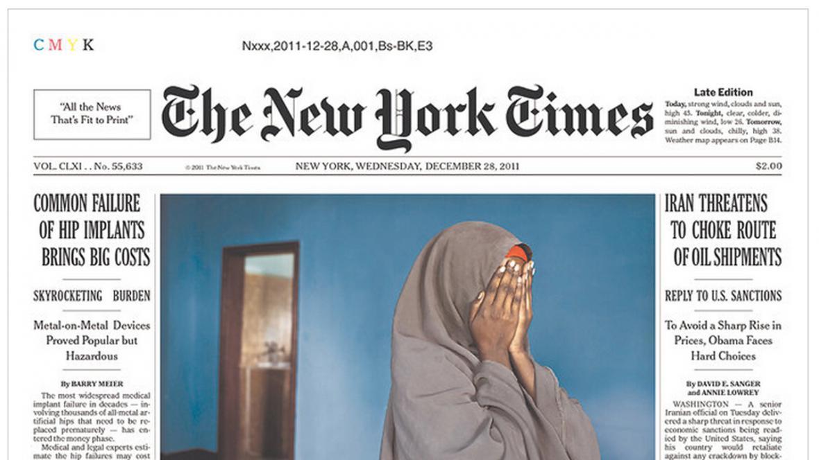 New York Times z 28. prosince 2011
