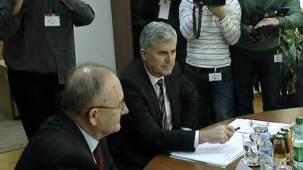 Dohoda v Bosně