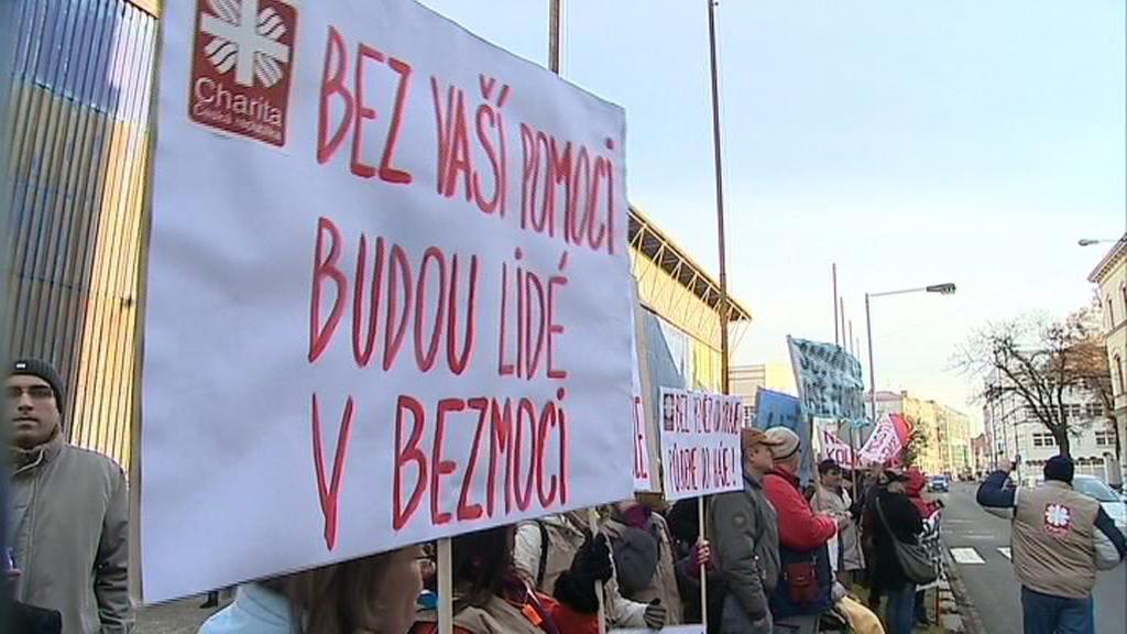 Protesty v Olomouci