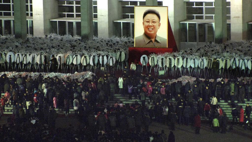 Pieta pro Kim Čong-ila