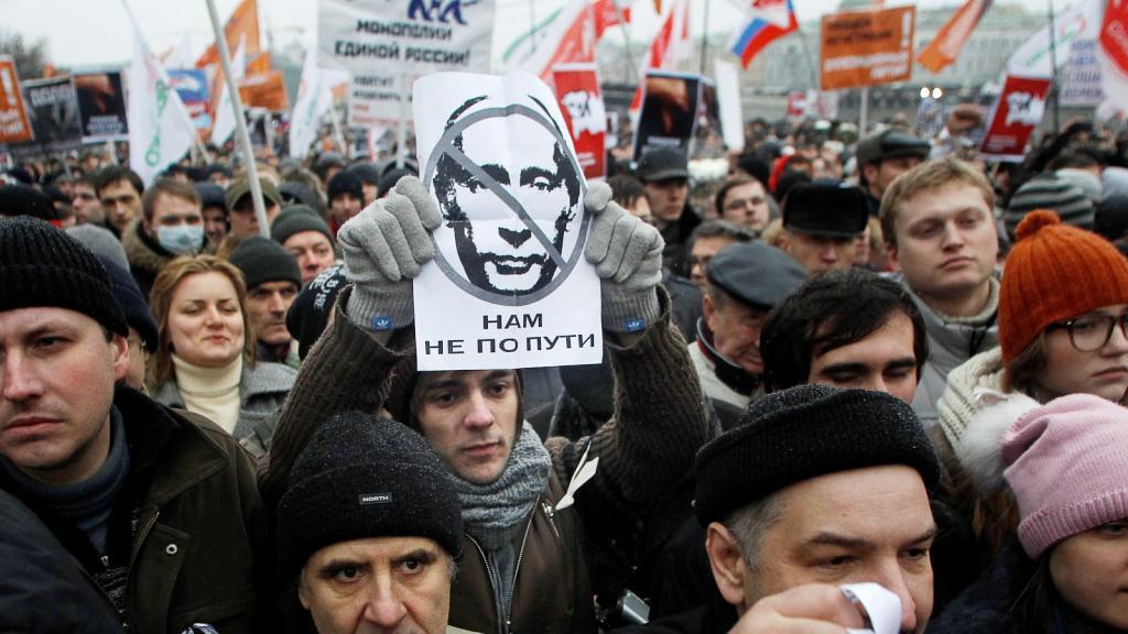 Protesty proti vládě