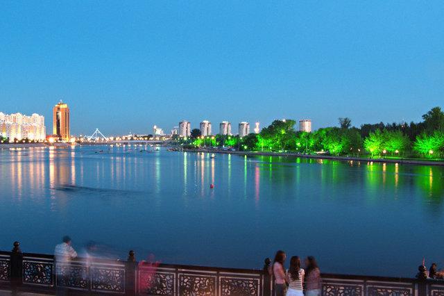 Astana - hlavní město Kazachstánu