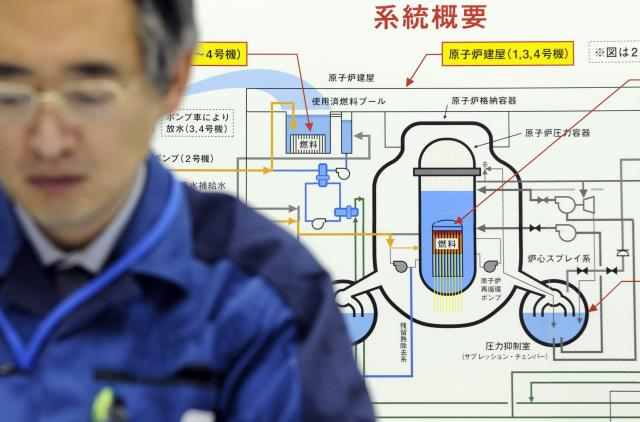 Jaderná elektrárna firmy TEPCO