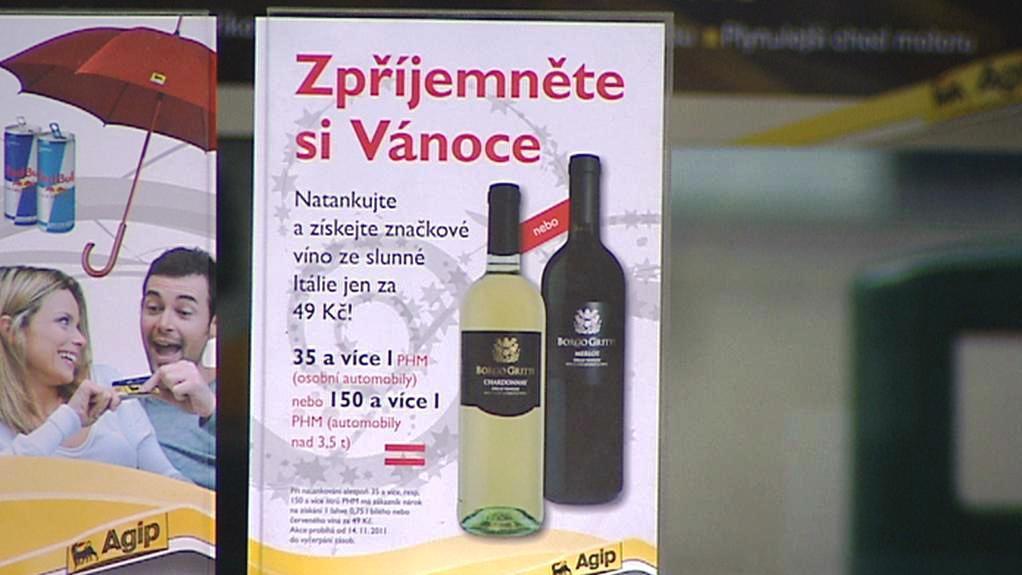 Alkohol jako dárek pro řidiče