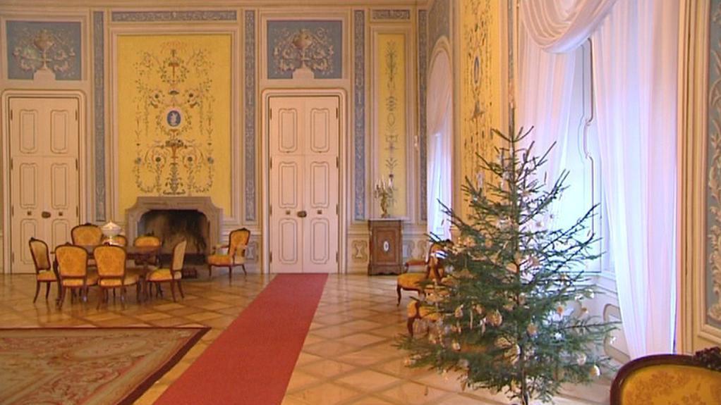 Vánoční prohlídka zámku Horšovský Týn