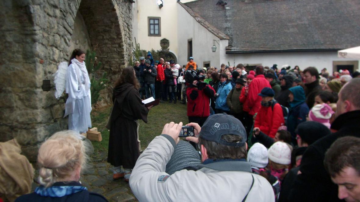 Návštěvníci si zazpívali koledy