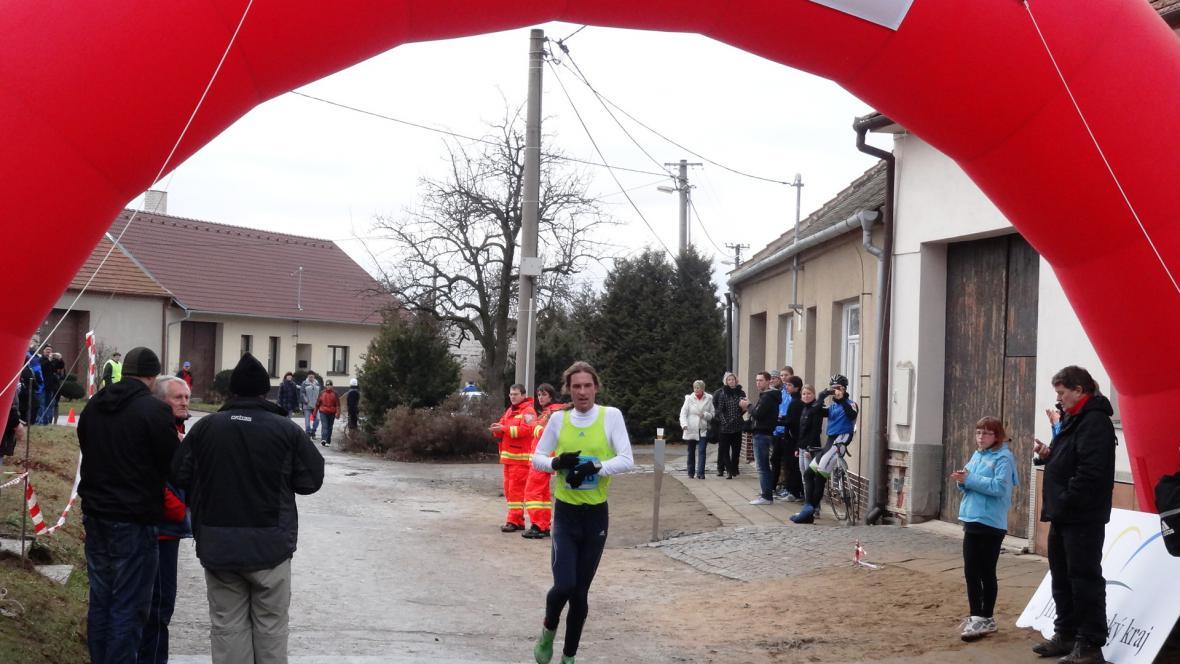 Třetí doběhl ultramaratónec Daniel Orálek