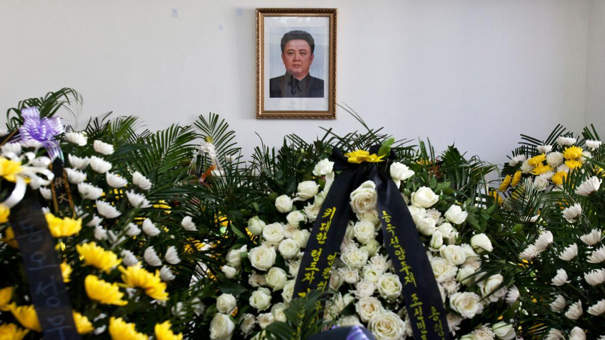 Smutek za Kim Čong-ila