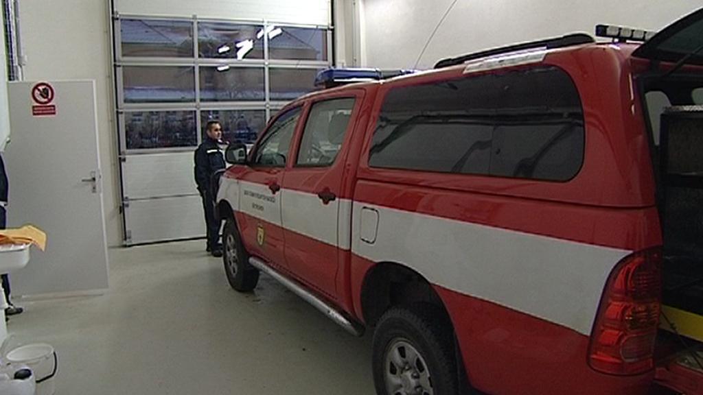 Nová hasičárna v Dětřichově