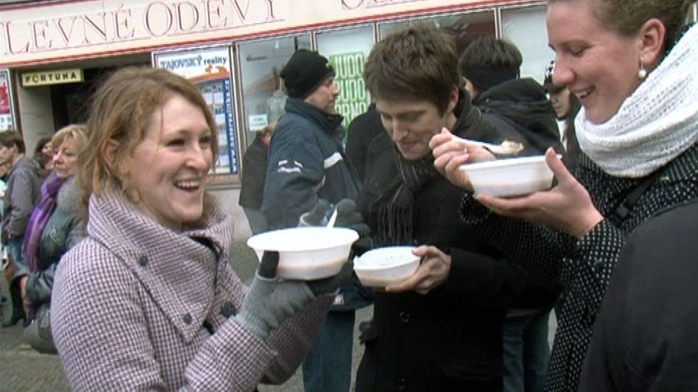 Boskovická polévka se stala štědrodenní tradicí