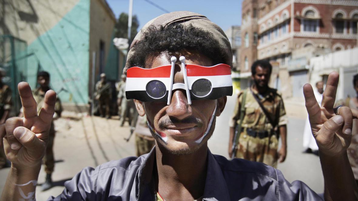 Demonstrace v Jemenu